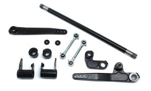 Steering And Suspension - Suspension Parts - TeraFlex - Jeep JK/JKU 4-6 Inch Lift Forged Single-Rate S/T Front Sway Bar System 07-18 Wrangler JK/JKU TeraFlex