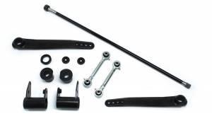 Steering And Suspension - Suspension Parts - TeraFlex - Jeep JK/JKU 4-6 Inch Lift Forged Trail-Rate S/T Front Sway Bar Kit 07-18 Wrangler JK/JKU TeraFlex