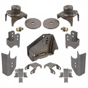 Shop By Part - Axles & Components - Synergy MFG - JK Rear Axle Bracket Kit Complete 07-18 Wrangler JK/JKU Synergy MFG