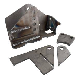 Synergy MFG - JK Weld-On HD Front Track Bar Bracket 2.5 Inch Axle Tube 07-18 Wrangler JK/JKU Synergy MFG